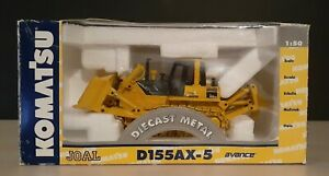 KOMATSU JOAL D155AX-5 AVANCE BULLDOZER DIECAST METAL 1:50 SCALE REF 277