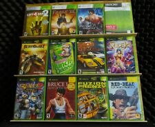 Xbox Game Lot (original & 360)