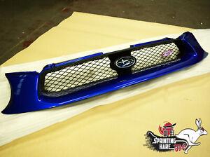 Genuine Bugeye Front Grille Fits: Subaru Impreza STi GDB S202 JDM Spec C WR Blue