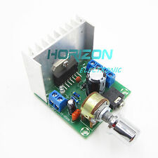D Audio Amplifier Board ual-Channel AC/DC 12V TDA7297 Version B 2x15W