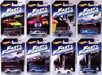 2017 Hot Wheels Fast & Furious 8 Car Set Supra Nissan Skyline Honda Subaru Ford