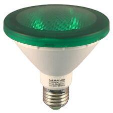 LAMPE SMD-LED E27 PAR30 VERTE, 10W, 230V, 30°