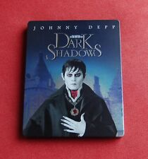 Dark Shadows - STEELBOOK - Blu-ray - Johnny Depp, Michelle Pfeiffer - Tim Burton