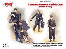 ICM 1/35 German Armoured Vehicle Crew (1941-1942) # 35614