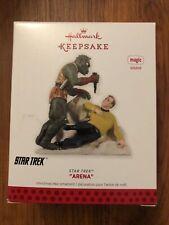 "Hallmark Keepsake Christmas Ornament  STAR TREK  ""ARENA"""