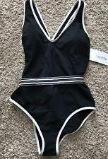 cfc1dfee7b1d4 Athleta Gold Coast Solid One Piece Bathing Suit Size L Large Retail