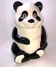 VINTAGE Metlox Panda Bear Cookie Jar