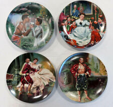 Edwin M. Knowles The King & I Collector's Plate Lot of 4 w/Original Boxes