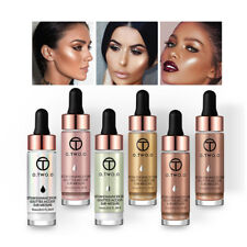 6Colors Makeup Highlighter Liquid Cosmetic Face Contour Brightener Shimmer