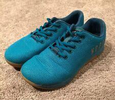 NOBULL Shoes Blue Turquoise Mens sz 6 Womens sz 7.5 Athletic Training Unisex