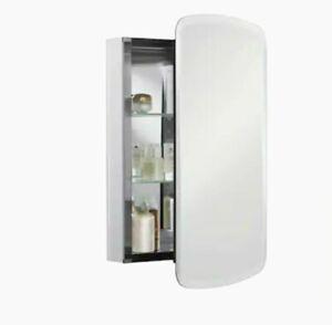 "Kohler K-CB-CLC2031BAN 20"" W x 31"" H aluminum single-door medicine cabinet"