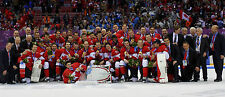 "Team Canada 2014 Gold Medal Winners - 10""x24"" Team Photo"