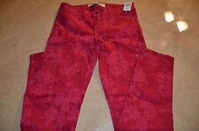 Womens Skinny Pants Stretch Size 4 / W 27 Abercrombie & Fitch