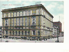 Claypool Hotel  Indianapolis IN  Mailed 1908  Postcard 733
