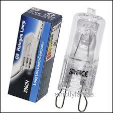 G9 de 40 vatios bombilla de luz halógeno 240v larga vida cápsula Lámpara Blanco Cálido Pack De 10