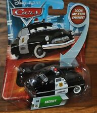 Disney Pixar Cars Die Cast Look My Eyes Change Sheriff #46 P7082 2009 NEW