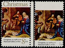 "#1444a 8¢ ""CHRISTMAS"" GOLD OMITTED MAJOR ERROR BQ5159"