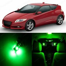 11 x Green LED Lights Interior Package For Honda CR-Z 2011 - 2014 + Pry TOOL
