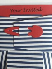10 Baby Shower Diaper Invitation DIY Card Sleeve & Envelope Cardmaking