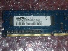 Elpida ebj10ue8bdf0-dj-f 1GB 1Rx8 pc3-10600u 1333 MHz memoria del PC