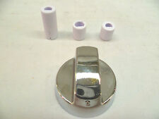 Silver Universal cooker control and hob control knob