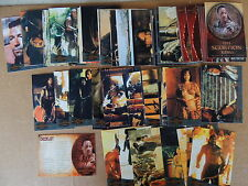 SCORPION KING COMPLETE TRADING CARD SET ALL DIFFERENT SEE PIC INKWORKS 2002
