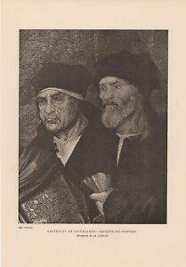1940 Portuguese 1450-1550 Cristovao De Figueiredo Retratos Dos Doadores