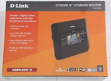 D-Link Dir-685 Xtreme N 300Mbps Gigabit Wireless Storage Router NAS/USB/LCD NEW