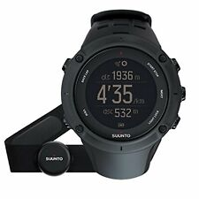 Suunto Wrist Watch Ambit 3 Peak Hr Black 10 Atm Water Resistant Gps F/S w/Track#