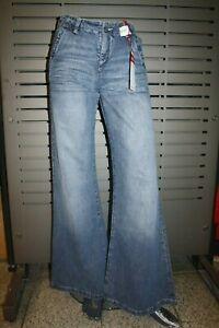 JIGGY Jeans LARGO Damen neu Party ausgestellt rinse stone Vintage