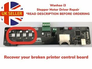 Repair Wanhao Duplicator i3 On Board Stepper Motor Drivers