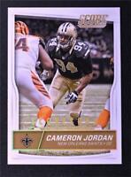 2016 Score Scorecard #207 Cameron Jordan - NM-MT