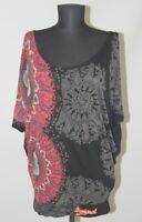 Desigual 37T2547 womens blouse shirt tunic Size M