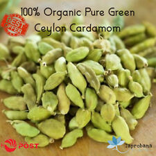 100g Organic Pure Green Cardamom Seeds Sri Lanka Spices Pack Special Bulk