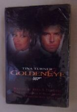 New Goldeneye 007 w/ Tina Turner Cassette Tape Factory sealed 4 mixes
