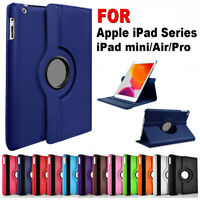 For Apple iPad mini Air Pro 7.9 9.7 10.2 10.5 Smart Case Leather Magnetic Cover