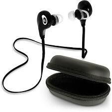 Bluetooth 4.1 Stereo Wireless In-Ear Earphones Headset Call Mic iPhone Samsung