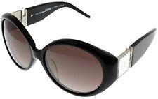 Gianfranco Ferre Sunglasses Women GF887 01 Black Swarovski Elements Oval