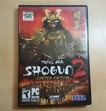 Total War: Shogun 2 Limited Edition For PC Windows DVD