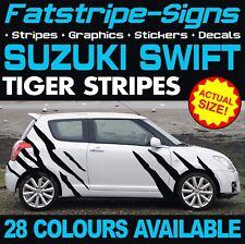 SUZUKI SWIFT TIGER STRIPES GRAPHICS STICKERS DECALS SPORT SZ-R 1.3 1.4 1.5 1.6 D