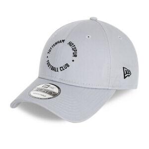 NEW ERA TOTTENHAM HOTSPUR FC BASEBALL CAP.9FORTY GREY SPURS FOOTBALL HAT W21