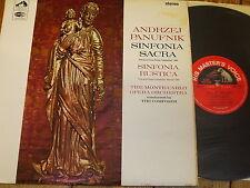ASD 2298 Panufnik Sinfonia Sacra/Sinfonia Rustica/Panufnik S/C
