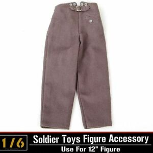3pcs Dragon DML1/6th Male Soldier WWII Accessory Model Pants Trousers Combat Toy