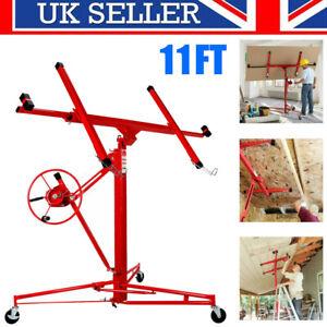 Drywall Lift Sheet Board Lifter Panel Hoist Caster Plasterboard Mobile Crane UK