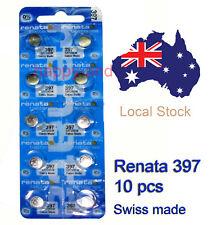 Renata Silver oxide watch battery SR726SW 397 x 10 pcs Local Stock