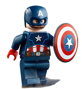 LEGO® - Minifigs - Super Heroes - sh686 - Captain America (76168)