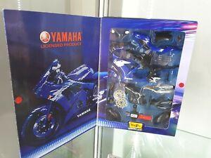 2005 MAISTO Assembley Line Die Cast Model Kit Yamaha YZF - R1 1:12 Sealed