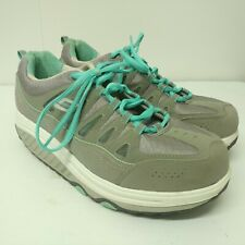 Skechers Shape Ups 2.0 Comfort Stride Model 57003 Women's Size 9.5 Gray/Mint