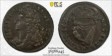 1686 James II Ireland 1/2 (half) Penny S-6576 PCGS VF-35 BN Nice Problem Free
