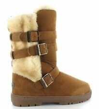Ella Fur Synthetic Boots for Women